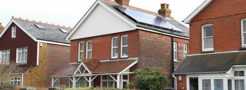 Solar PV system installation - Emsworth