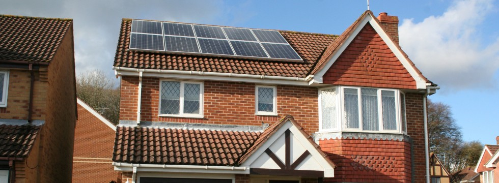 Domestic solar panle installation - Lovedean