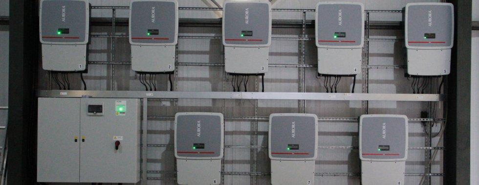Solar Inverter installation 250KW