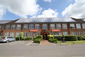 Solar panel Installation at Hampshire Fire & Rescue Headquarters