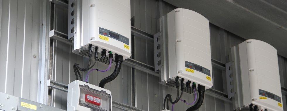 Solar Edge Inverter Installation at HFRS Fleet Maintenance