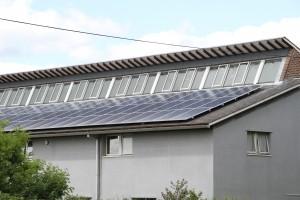 Solar Panel Installation on Hightown Fire Station