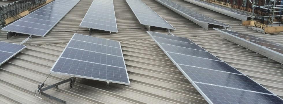 Solar Panel Installation on St Marys Fire Station