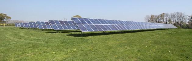Solar Farm on Hayling Island