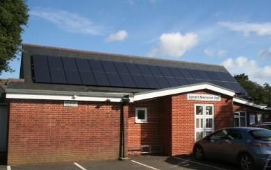 Solar PV Installation - Lavant Memorial Hall