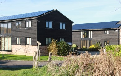 Solar panel installation - Commercial Offices - Appuldram