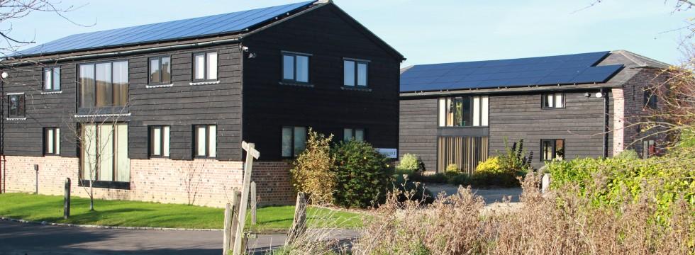 Solar panel installation - Commercial Offices - Appuldram
