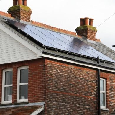 Solar PV installation 3 KVA