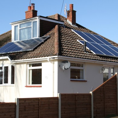 Birch Close Emsworth Solar PV Installation