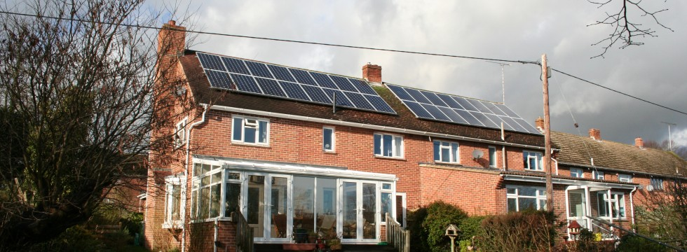 Droxford - two 4 kW solar PV systems