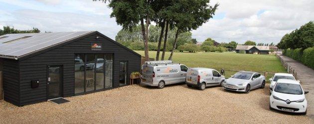 Solar Voltaics Offices Nutbourne