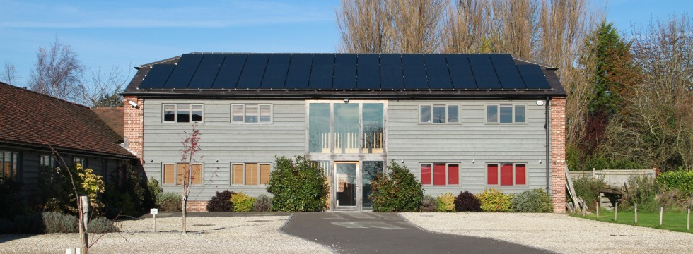 Solar Panel Installation - commercial offices Chichester