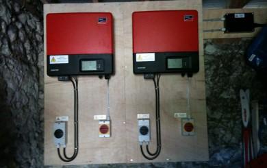 SMA inverters for solar installation