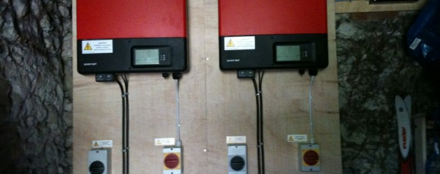 SMA inverters for solar installation