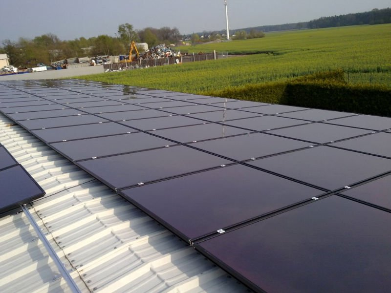 Solar Voltaics Ltd Amorphous Or Thin Film Solar Panels