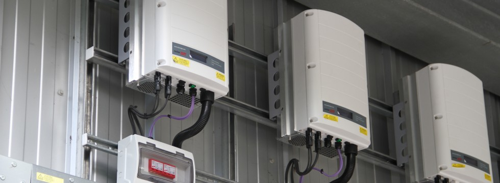 Solar Edge Inverter Installation at HFRS Fleet Maintenance