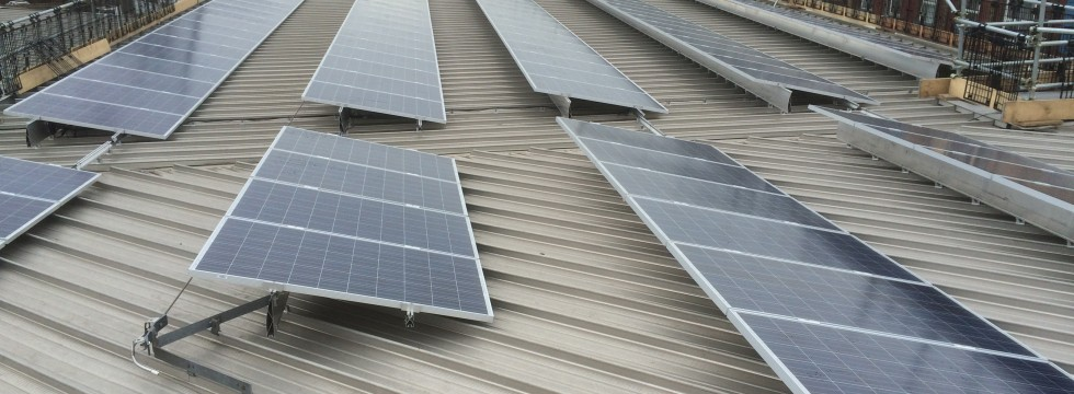 Solar Panel Installation on St Marys Fire Station