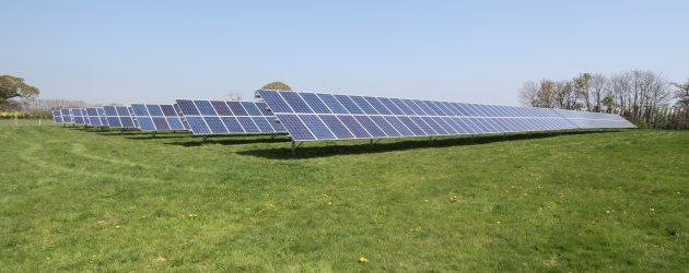 Solar Farm on Hayling Island
