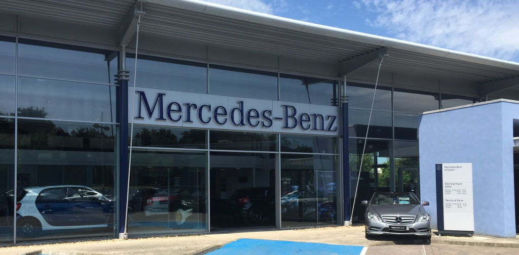 Mercedes-Benz solar installation