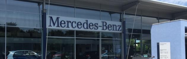 Mercedes-Benz solar installation