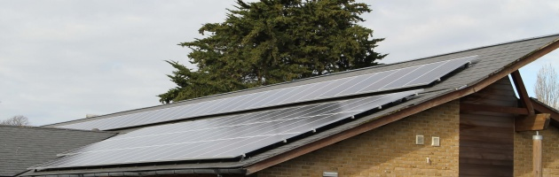 Solar reducing costs on Hamilton House Sheltered