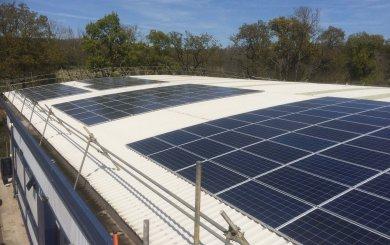 50 KW SolarEdge System at Childrensalon