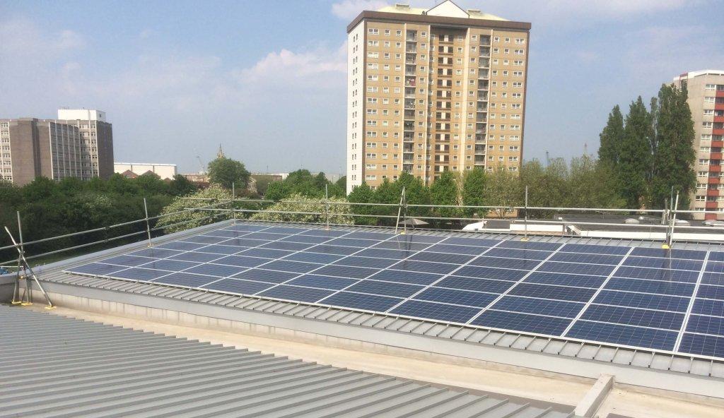 Charles Dickens Centre Solar Installation