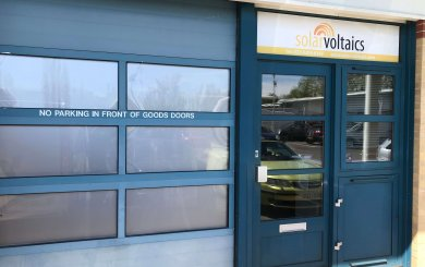 Solar Voltaics Ltd Office