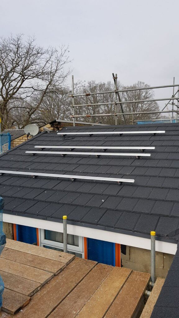 Installation of solar panels for ThamesWey