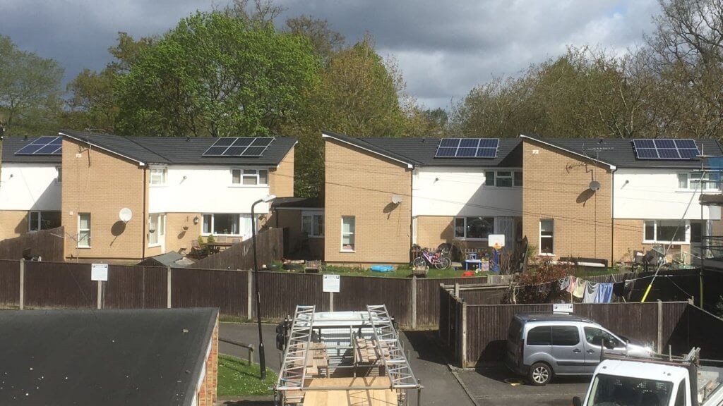 Solar Energy Installation on ThamesWey housing