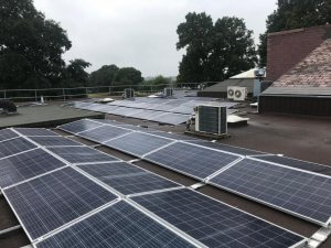 Solar Installation at Queen Elizabeth II Silver Jubilee School